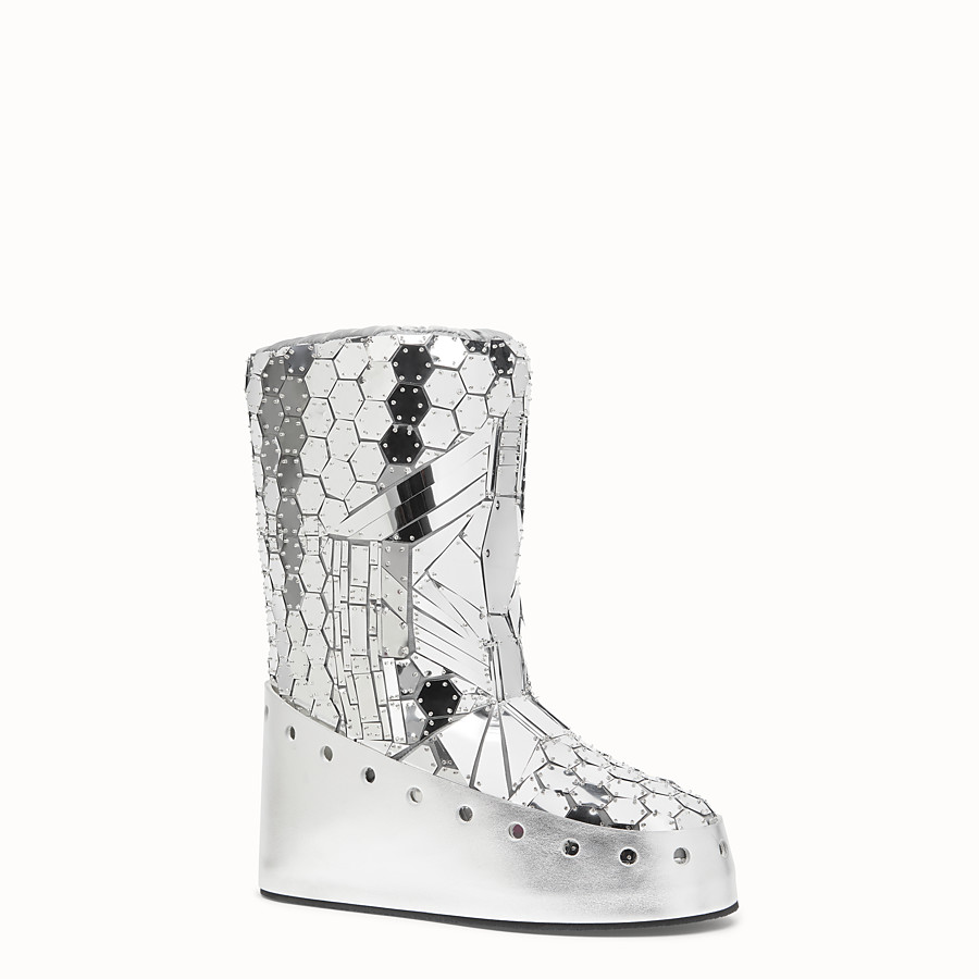 FENDI SKI BOOT - Fendi Prints On boots with mirror effect - view 2 detail