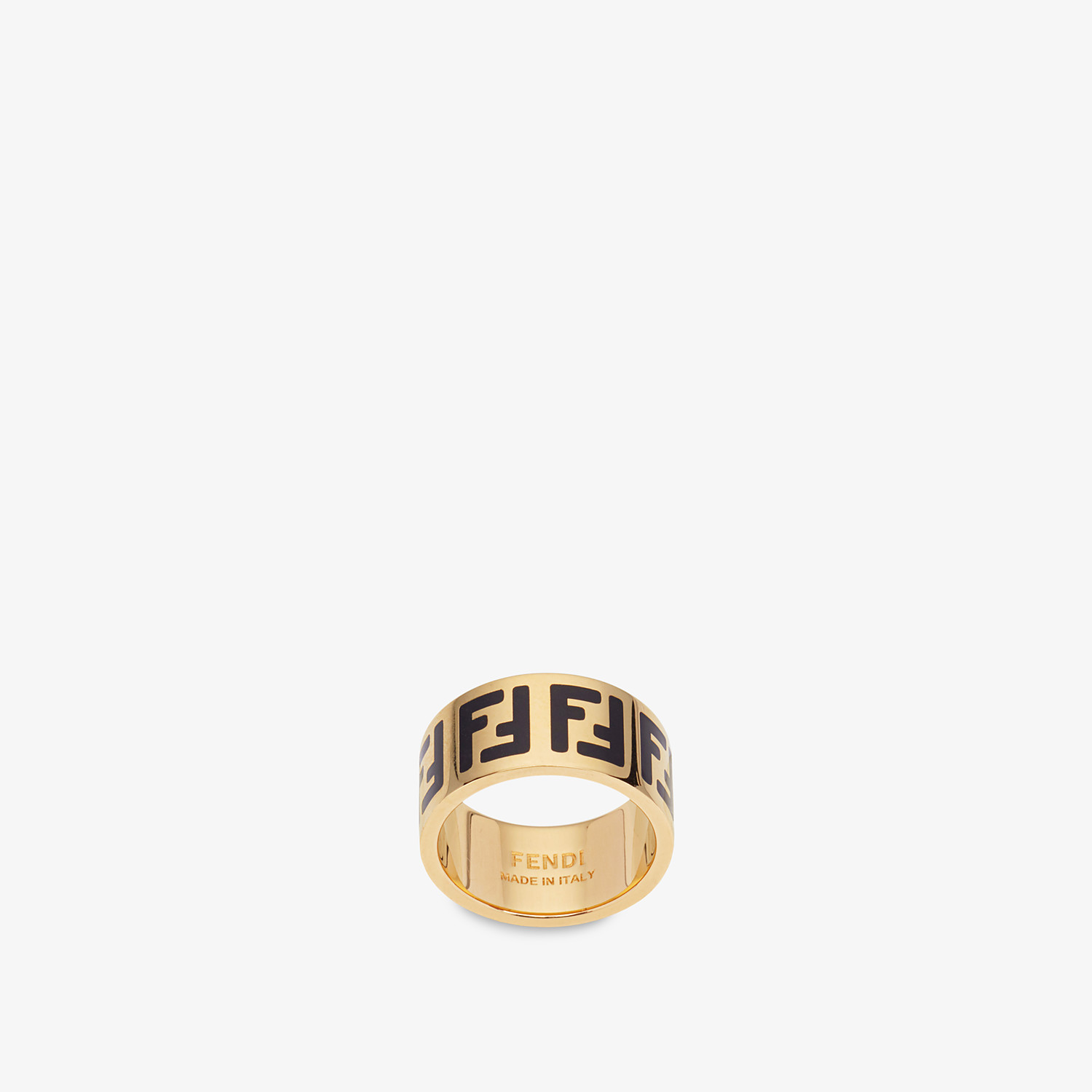 FENDI FF RING - Gold-color ring - view 1 detail