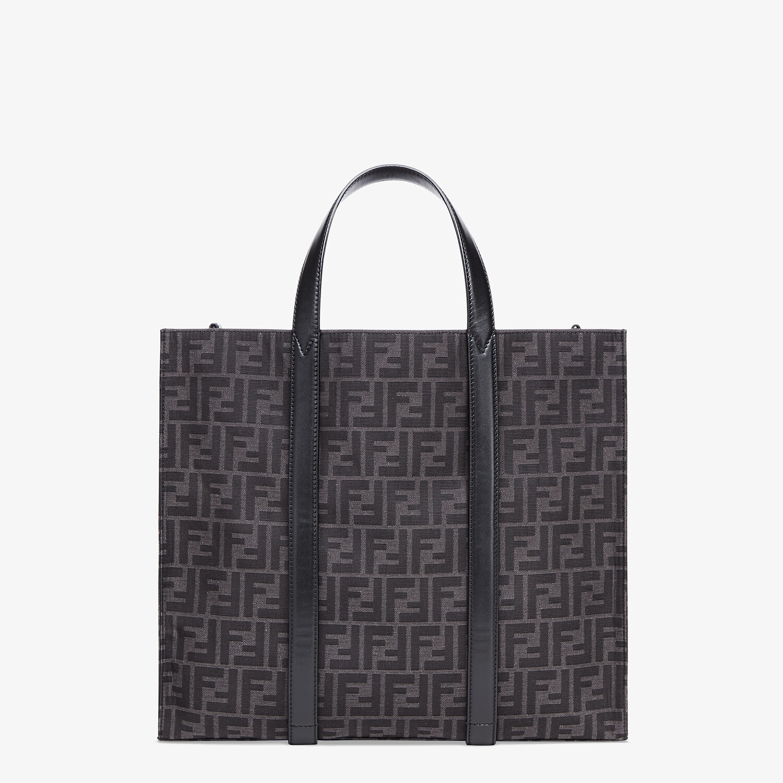 FENDI SHOPPER - FF jacquard fabric bag - view 1 detail
