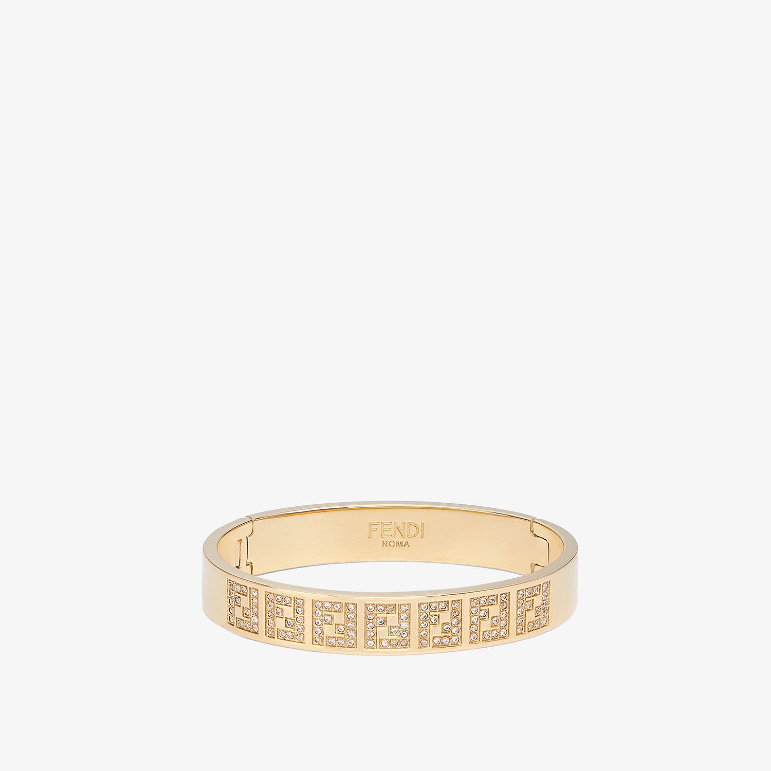 FENDI FF BRACELET - Gold-colour bracelet - view 1 detail