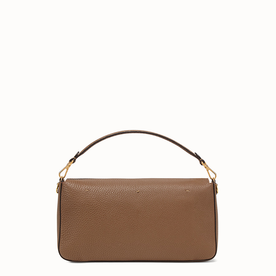 FENDI BAGUETTE LARGE - Sac en cuir marron - view 3 detail