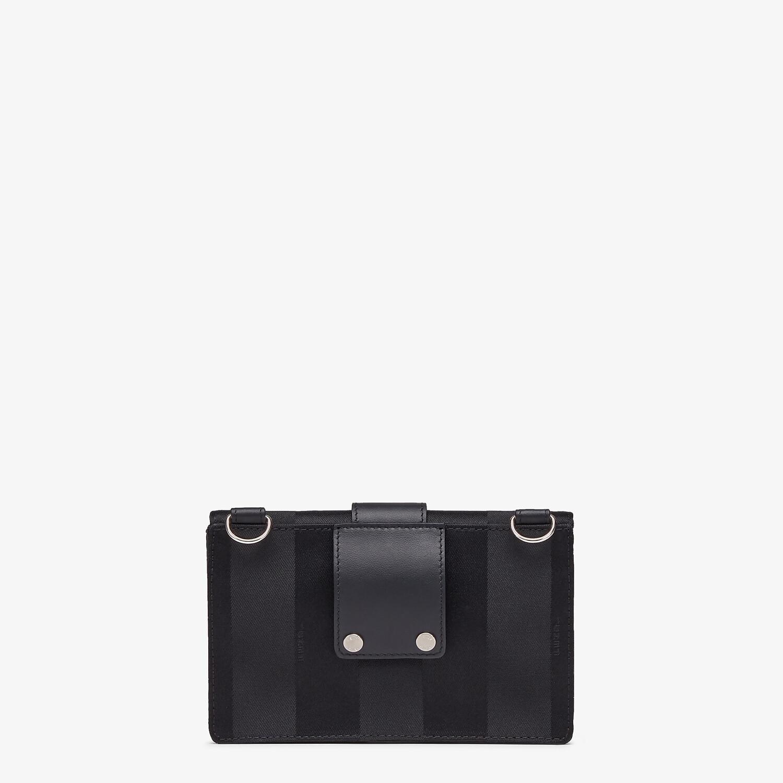 FENDI BAGUETTE POUCH - Black nylon bag - view 3 detail