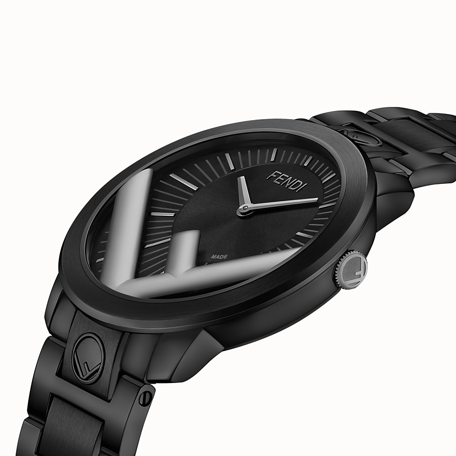 FENDI RUNAWAY - 41 mm - Watch with F is Fendi logo - view 3 detail