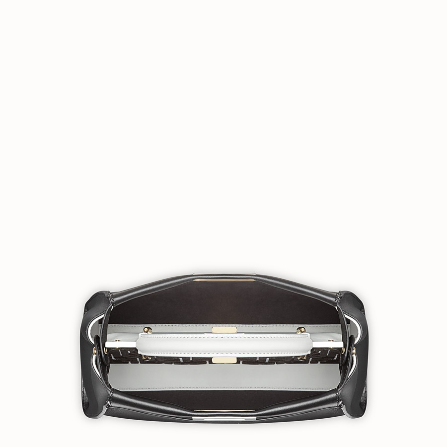 FENDI PEEKABOO REGULAR - Multicolour leather bag - view 4 detail