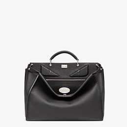 FENDI PEEKABOO ICONIC MEDIUM - Black Selleria bag - view 1 thumbnail