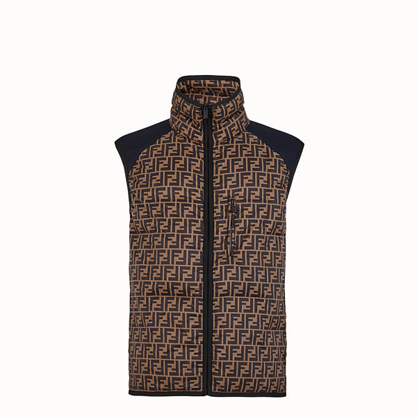 FENDI GILET - Multicolour tech fabric gilet - view 1 small thumbnail