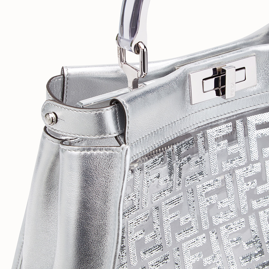FENDI PEEKABOO ICONIC MEDIUM - Fendi Prints On leather bag - view 5 detail