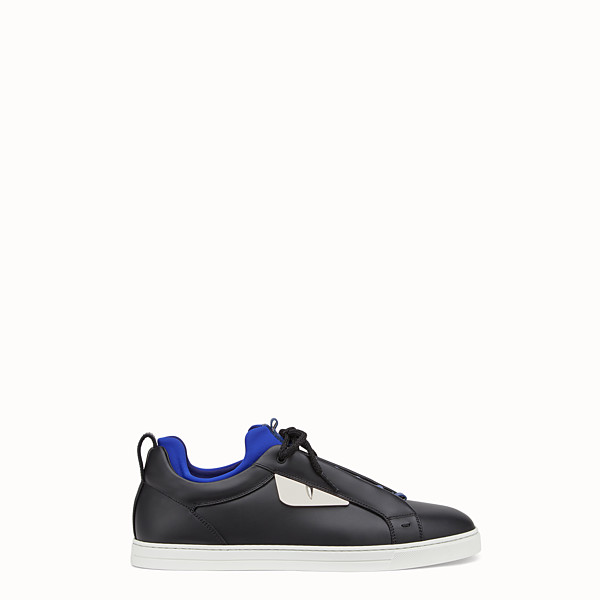 FENDI SNEAKERS - Sneakers en cuir noir - view 1 small thumbnail