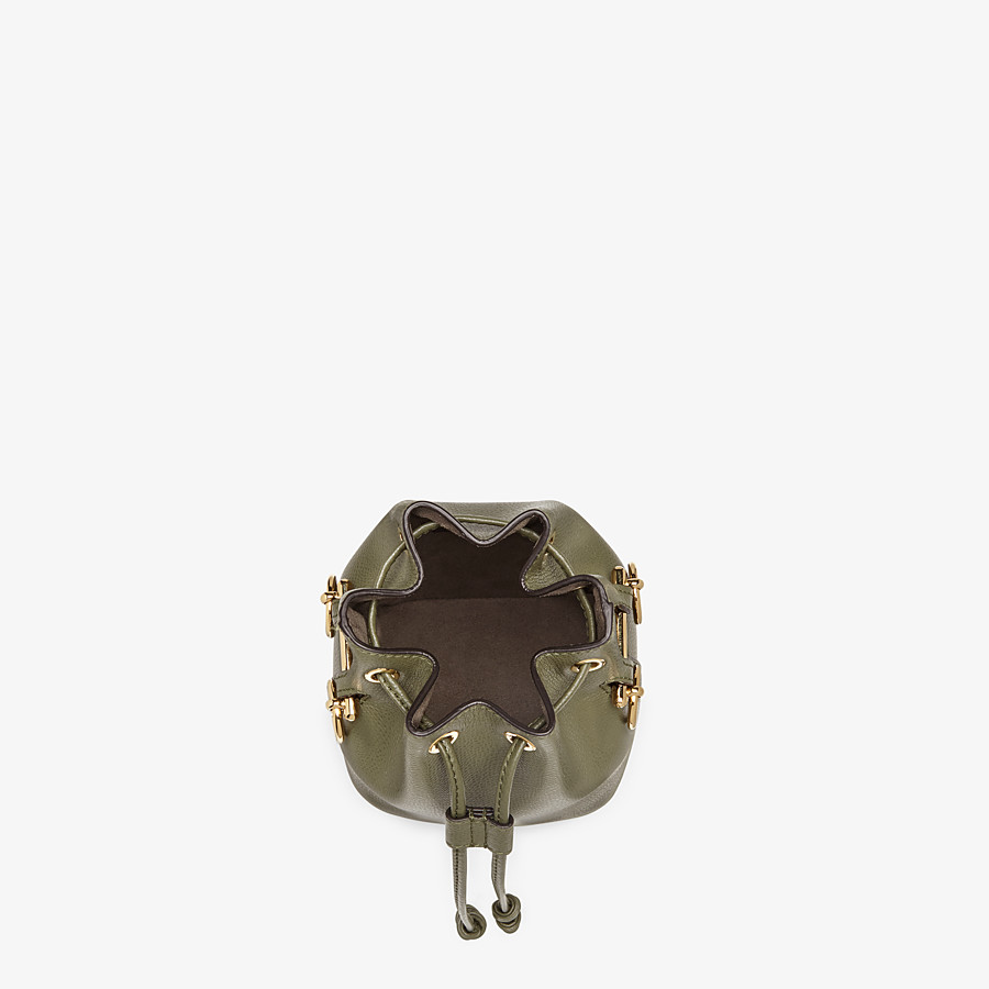 FENDI MON TRESOR - Green leather mini-bag - view 4 detail
