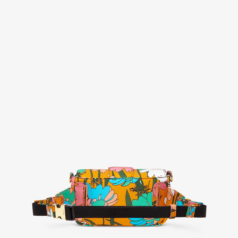 FENDI BAGUETTE - Multicolor nylon bag - view 4 detail