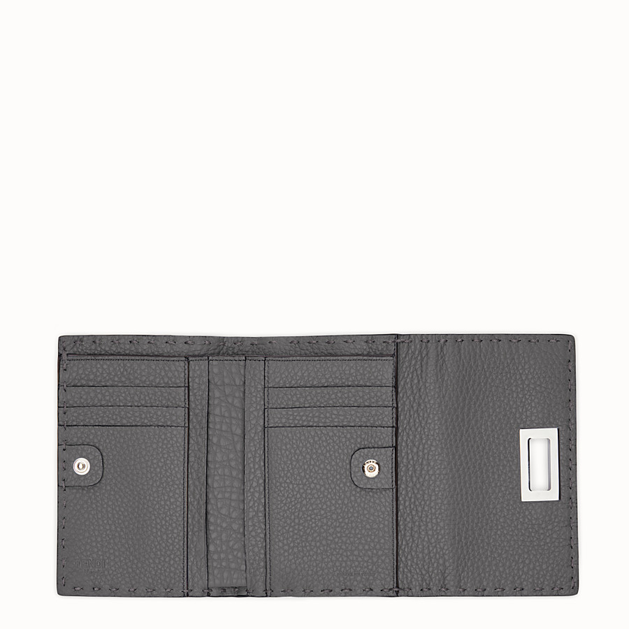 FENDI CONTINENTAL MEDIUM - Medium grey Selleria continental wallet - view 5 detail