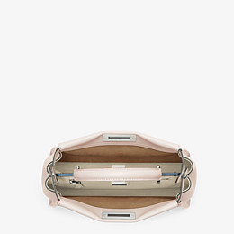 FENDI PEEKABOO ICONIC MEDIUM - Pink leather bag - view 4 thumbnail
