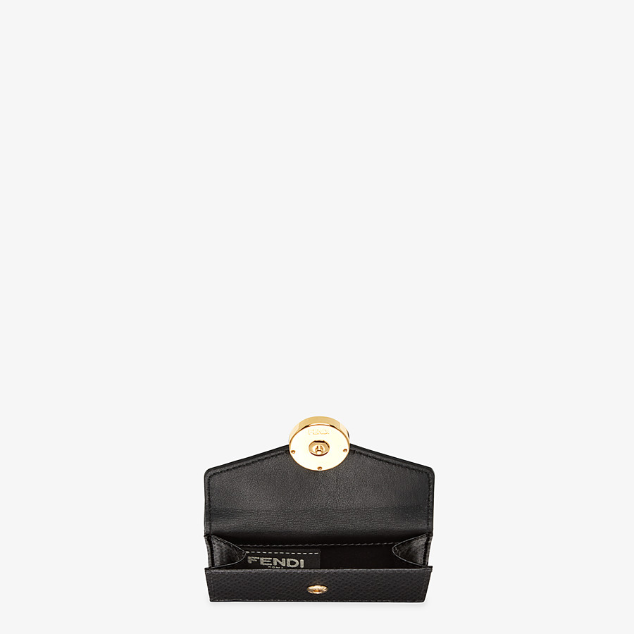 FENDI MICRO TRIFOLD - Black leather wallet - view 4 detail