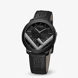 FENDI RUN AWAY - 41 mm - Watch with F is Fendi logo - view 2 thumbnail