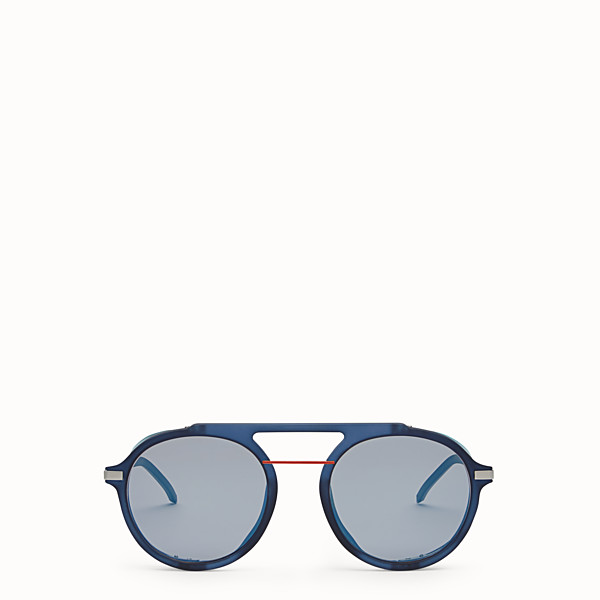 FENDI FENDI FANTASTIC - Blue AW 17/18 Runway sunglasses - view 1 small thumbnail