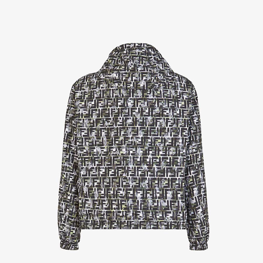 FENDI BLOUSON JACKET - Multicolor nylon jacket - view 2 detail