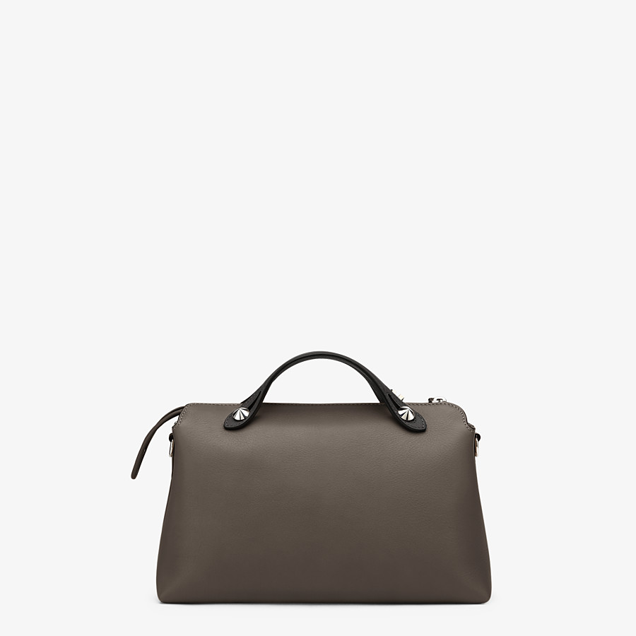 FENDI BY THE WAY MEDIUM - Small multicoloured leather Boston bag - view 3 detail