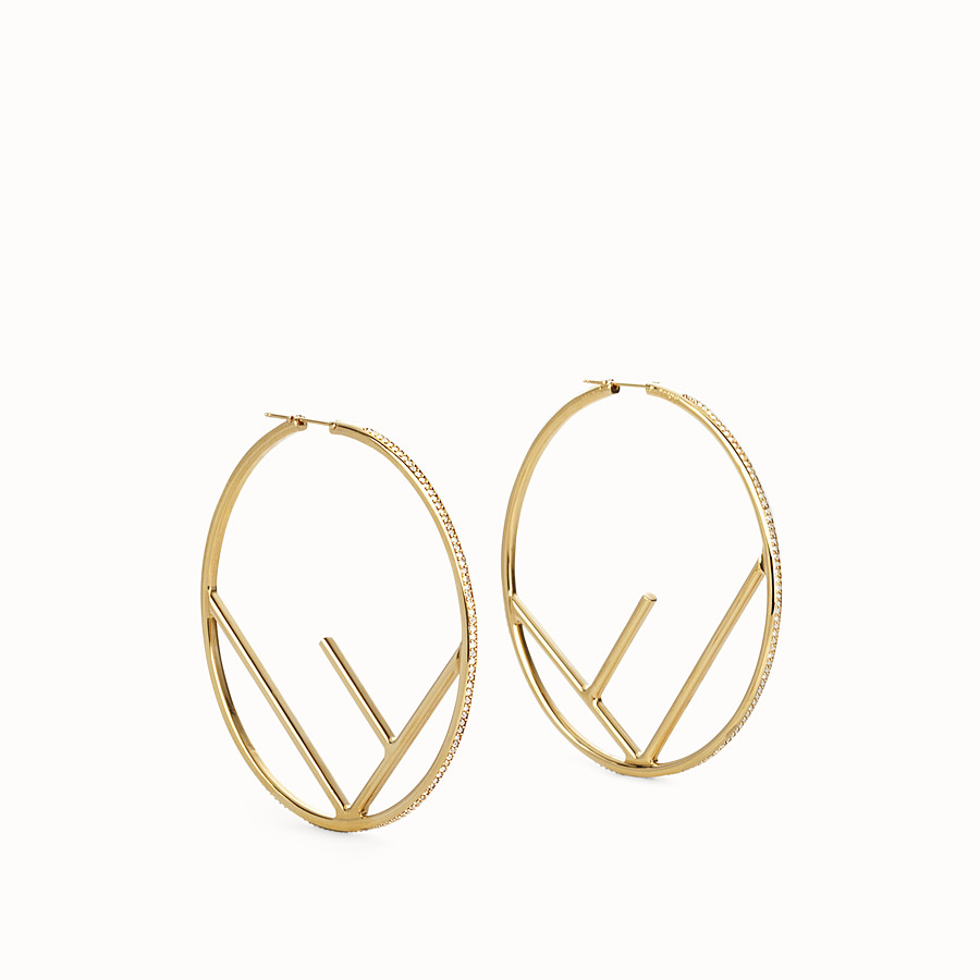 3ea695a82893 Gold-color earrings - F IS FENDI EARRINGS