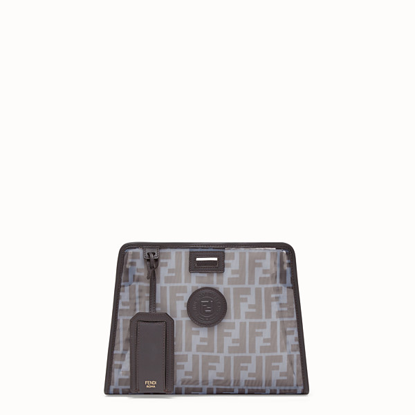 FENDI SMALL PEEKABOO DEFENDER - Light blue mesh Peekaboo cover - view 1 small thumbnail