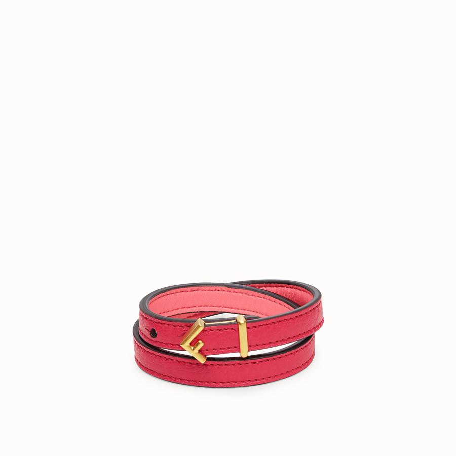 FENDI F DECO BRACELET - Fuchsia bracelet - view 1 detail