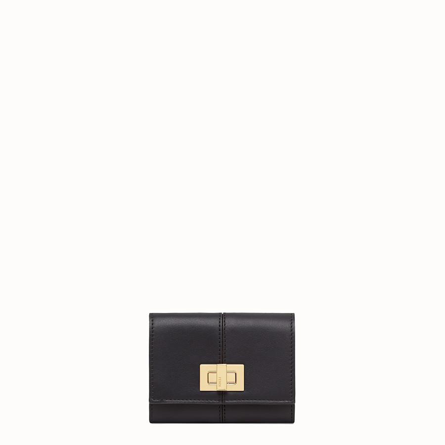 FENDI PORTE-CARTES - Porte-cartes en cuir noir - view 1 detail