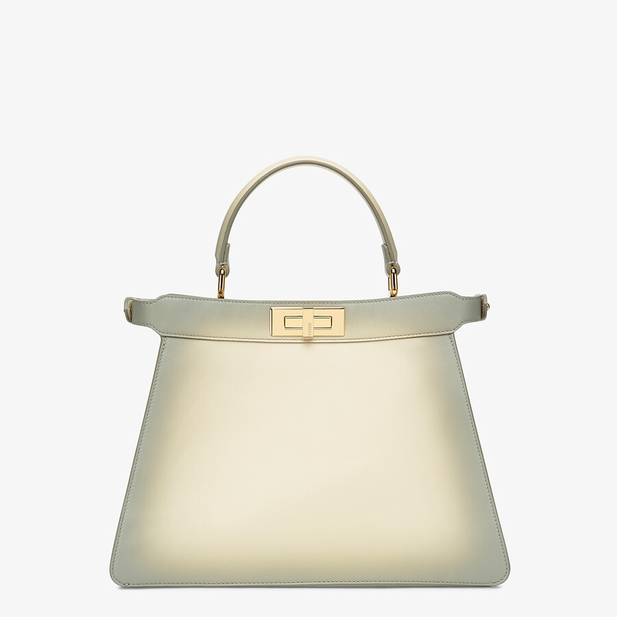 FENDI PEEKABOO ISEEU MEDIUM - White leather bag - view 5 detail