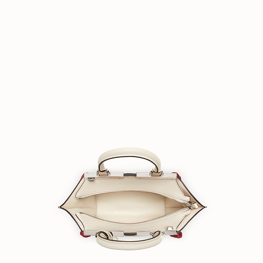 FENDI MINI 3JOURS - Pink leather mini-bag - view 4 detail