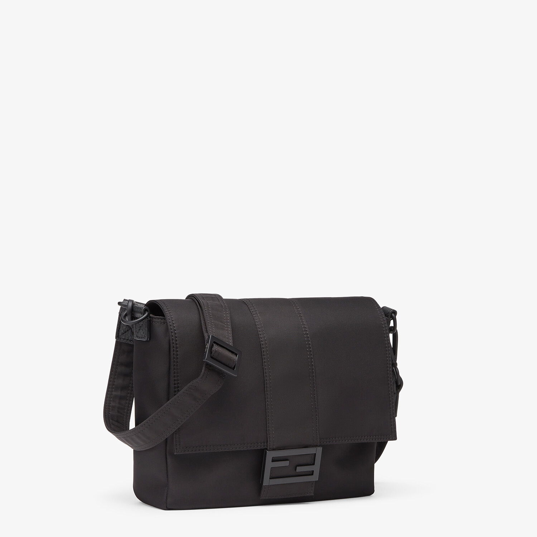 FENDI BAGUETTE MESSENGER BAG MEDIUM - Black nylon bag - view 2 detail