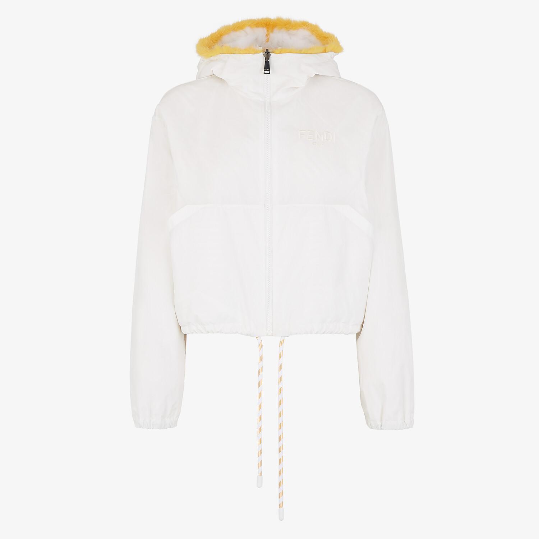 FENDI JACKET - White mink jacket - view 4 detail