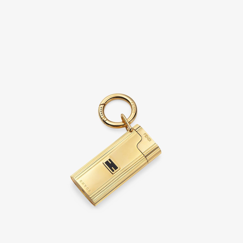 FENDI LIGHTER HOLDER - Fendi X Chaos metal lighter holder charm - view 1 detail