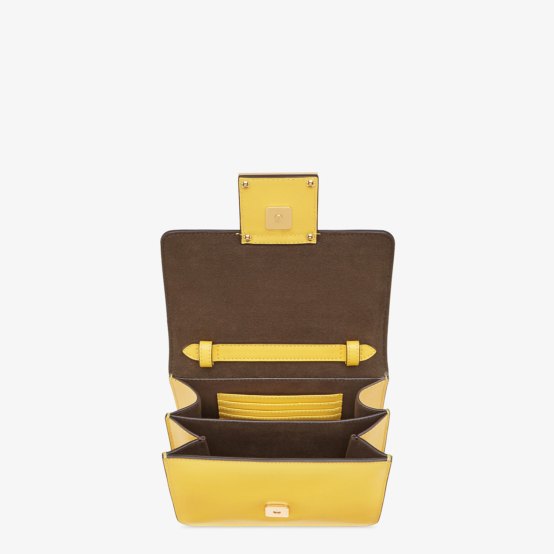 FENDI FENDI FAB - Small yellow leather bag - view 5 detail
