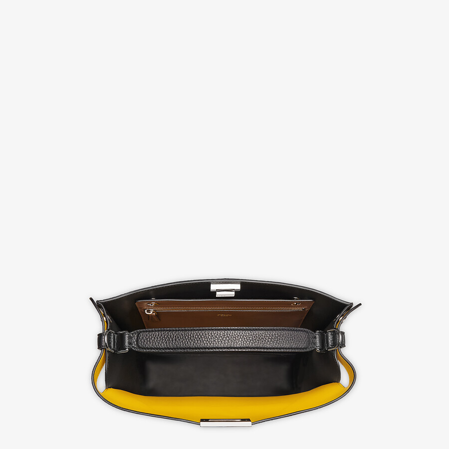 FENDI PEEKABOO ISEEU TOTE - Black leather bag - view 6 detail
