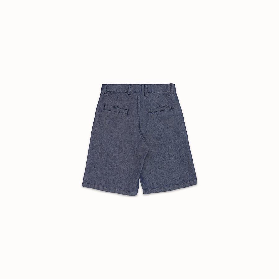 FENDI BERMUDAS - Denim Bermuda shorts - view 2 detail