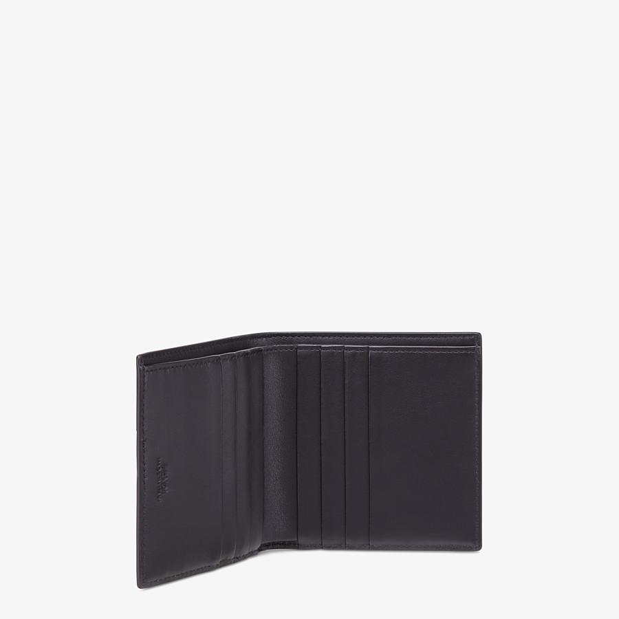 FENDI PORTAFOGLIO - Bi-fold in tessuto marrone - vista 3 dettaglio