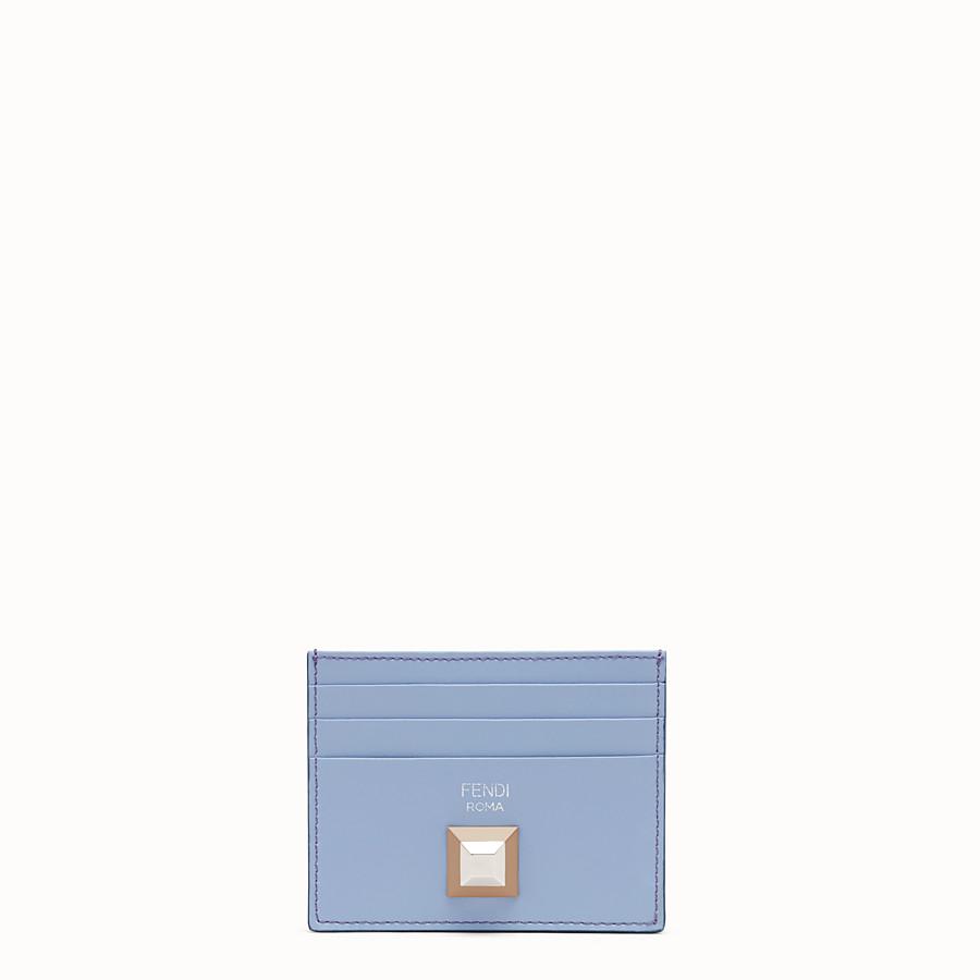 FENDI CARD HOLDER - Flat multicolor leather card holder - view 1 detail