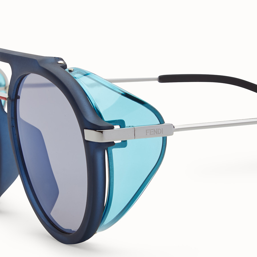 FENDI FENDI FANTASTIC - Blue AW 17/18 Runway sunglasses - view 3 detail