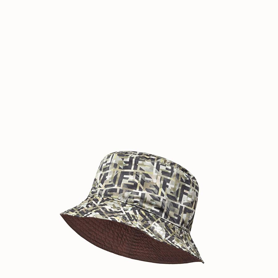FENDI HAT - Multicolour nylon hat - view 1 detail