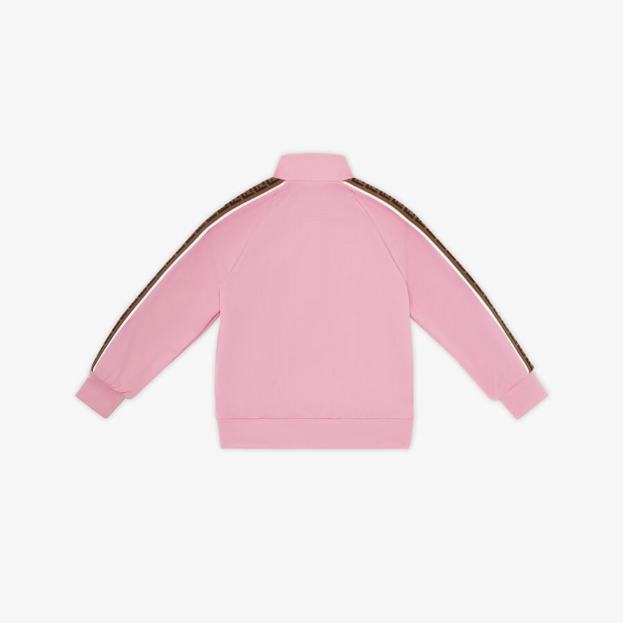 FENDI JUNIOR SWEATSHIRT - Tech fabric junior sweatshirt - view 2 detail