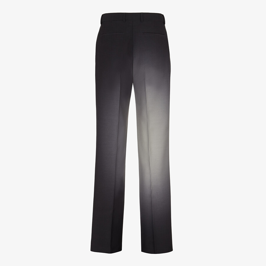 FENDI PANTS - Black wool pants - view 2 detail