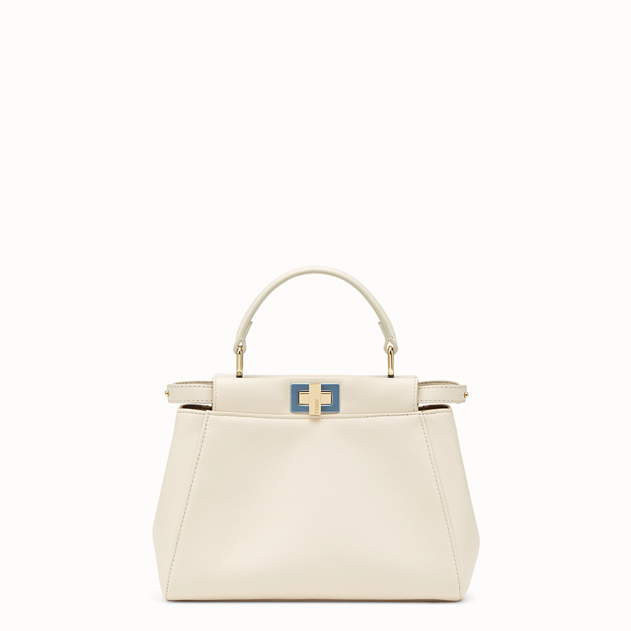 063b5cd36b White leather bag - PEEKABOO MINI