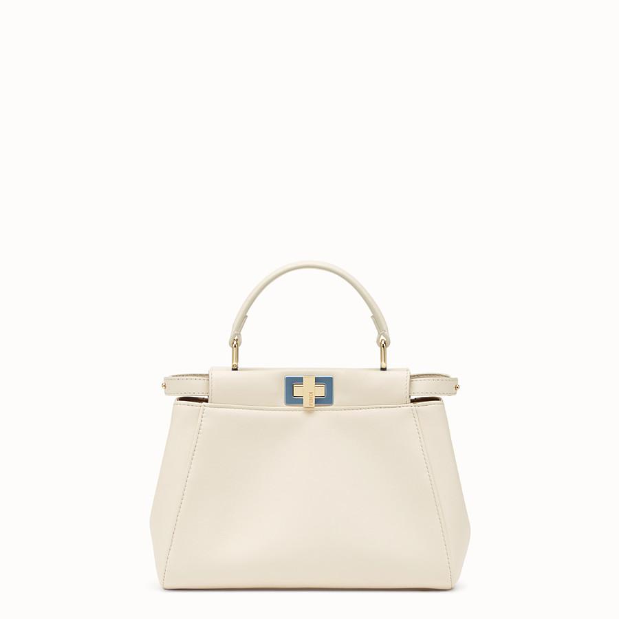 1da87c8878fc White leather bag - PEEKABOO MINI