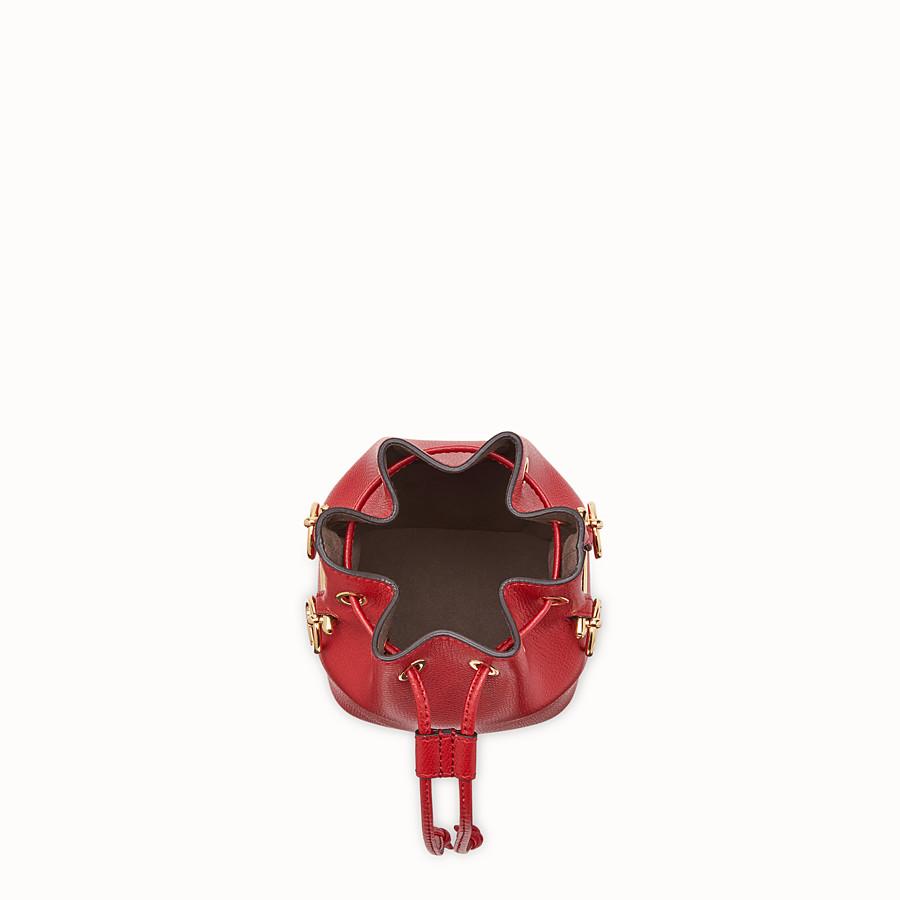 FENDI MON TRESOR - Mini sac en cuir rouge - view 4 detail