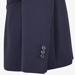 FENDI JACKE - Sakko aus Wolle in Blau - view 4 thumbnail