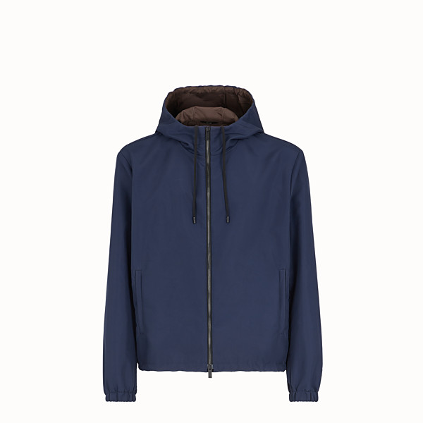 FENDI WINDJACKE - Windjacke aus Nylon in Blau - view 1 small thumbnail