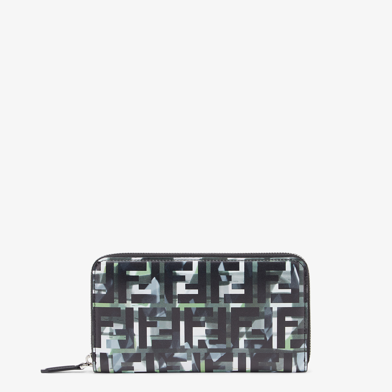FENDI ZIP-AROUND - Multicolor leather wallet - view 1 detail