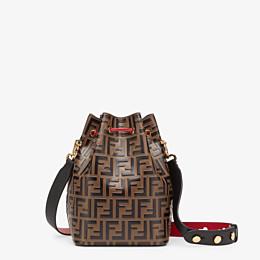 FENDI MON TRESOR - Multicolor leather bag - view 3 thumbnail