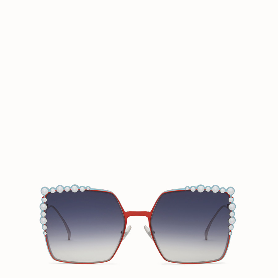 FENDI CAN EYE - Zweifarbige FS 17 Runway-Sonnenbrille - view 1 detail