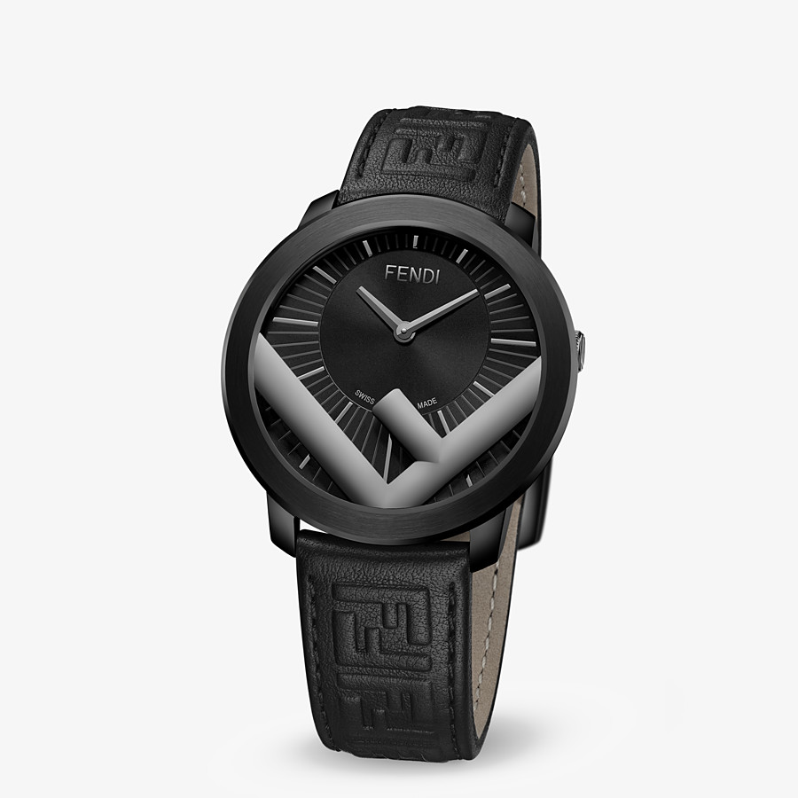 FENDI RUN AWAY - 41 mm - Watch with F is Fendi logo - view 2 detail