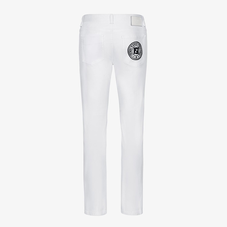 FENDI DENIM - Fendi Roma Joshua Vides denim jeans - view 2 detail