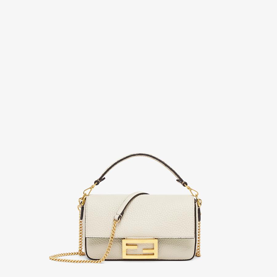 FENDI BAGUETTE MINI - Fendi Roma Amor leather bag - view 1 detail